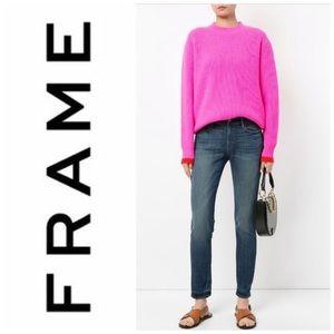 FRAME Denim Le Garçon Jeans Size 23 In Storm